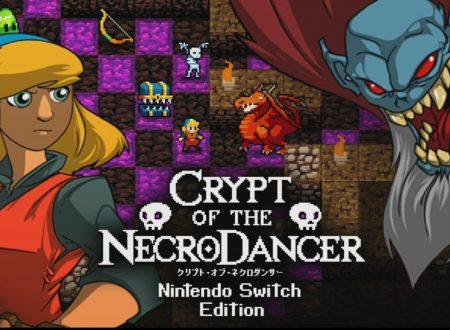 Crypt of the NecroDancer: Nintendo Switch Edition, il titolo è in arrivo l'8 febbraio sui Nintendo Switch europei
