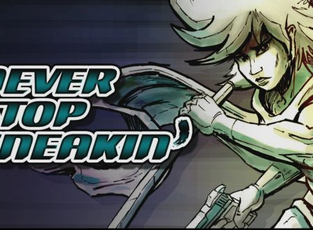 Never Stop Sneakin': il titolo è in arrivo l'8 gennaio sui Nintendo Switch europei