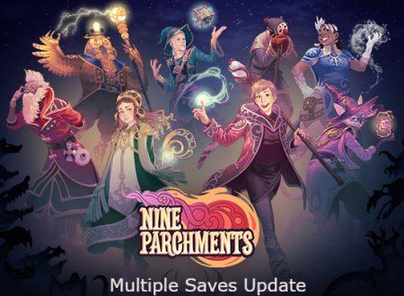 Nine Parchments: il titolo aggiornato alla versione 1.0.1 sui Nintendo Switch europei