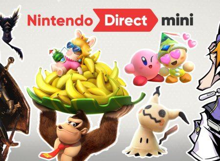 Nintendo Direct Mini, l'attesa presentazione è da ora disponibile su Youtube