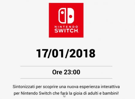Nintendo Switch: annunciata una nuova esperienza interattiva che farà la gioia di adulti e bambini