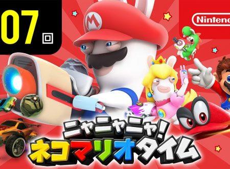 Nyannyan Neko Mario Time: pubblicato l'episodio 107 dello show felino con Mario e Peach