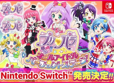 PriPara: All Idol Perfect Stage: il titolo annunciato per l'arrivo su Nintendo Switch