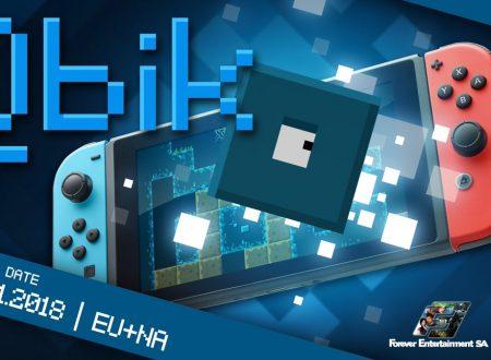 Qbik: il titolo è in arrivo il 18 gennaio sull'eShop europeo di Nintendo Switch