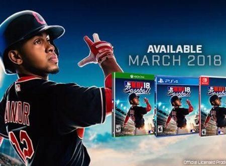 R.B.I. Baseball 18: il titolo è ufficialmente in arrivo a marzo sui Nintendo Switch europei