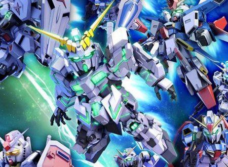 SD Gundam G Generation Genesis: il titolo in arrivo il 26 aprile sui Nintendo Switch giapponesi
