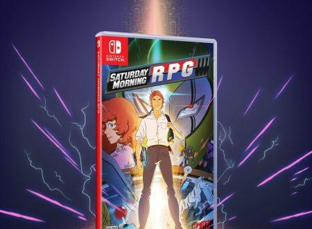 Saturday Morning RPG: il titolo in arrivo su Nintendo Switch, anche in versione retail