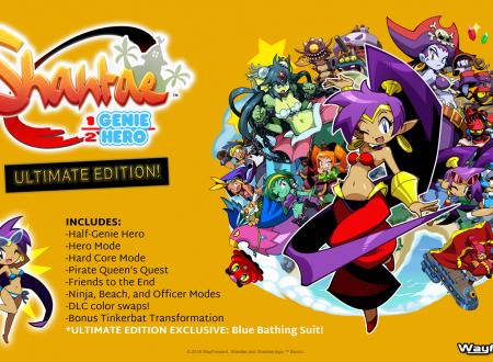 Shantae: Half-Genie Hero – Ultimate Edition, annunciata la versione digitale completa del titolo