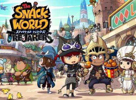 Snack World: Trejarers, il titolo è ora in arrivo anche su Nintendo Switch