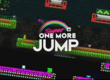 Super One More Jump: il titolo in arrivo il 25 gennaio sui Nintendo Switch europei