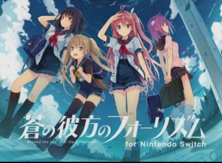 Ao no Kanata no Four Rhythm: il titolo è ora in pre-download sui Nintendo Switch giapponesi