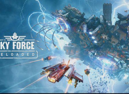 Sky Force Reloaded: uno sguardo in video al titolo dai Nintendo Switch europei