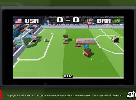 Soccer Slammers: il titolo annunciato per l'arrivo sull'eShop di Nintendo Switch