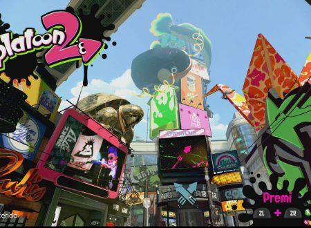 Splatoon 2: il titolo ora aggiornato alla versione 2.2.1 sui Nintendo Switch europei