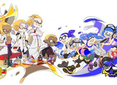 Splatoon 2: mostrato l'artwork ufficiale dello Splatfest giapponese sul manga giapponese di CoroCoro