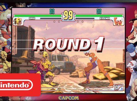 Street Fighter 30th Anniversary Collection: pubblicato un nuovo trailer, in arrivo a maggio su Nintendo Switch