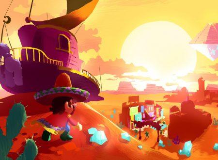 Super Mario Odyssey: mostrati dei concept art di Cappy e della Odyssey su Tostarena