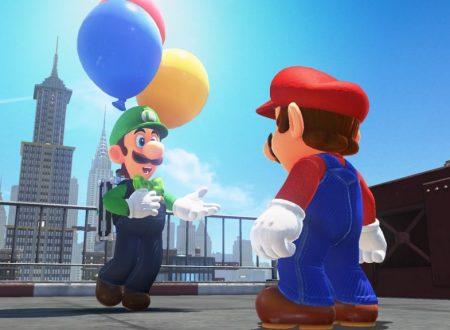 Super Mario Odyssey: rivelata la nuova modalità Caccia al palloncino di Luigi, in arrivo a febbraio