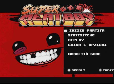 Super Meat Boy: uno sguardo in video al titolo dai Nintendo Switch europei