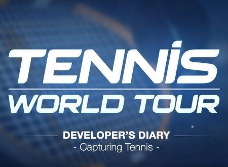 Tennis World Tour: pubblicato un nuovo trailer sul titolo in arrivo su Nintendo Switch