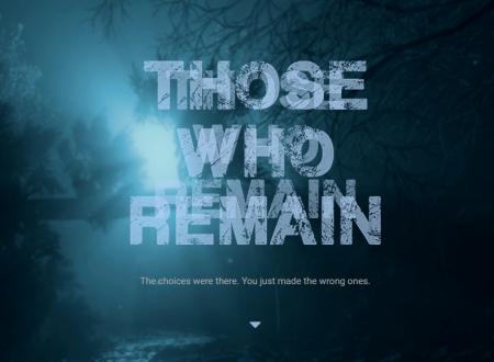Those Who Remain: il titolo annunciato per l'arrivo sull'eShop di Nintendo Switch
