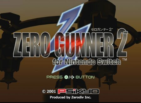 ZERO GUNNER 2- for Nintendo Switch: il titolo in arrivo il 25 gennaio sui Nintendo Switch europei