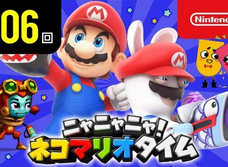 Nyannyan Neko Mario Time: pubblicato l'episodio 106 dello show felino con Mario e Peach