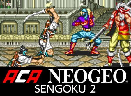 ACA NEOGEO SENGOKU 2, il titolo in arrivo il prossimo 28 febbraio sull'eShop europeo di Nintendo Switch