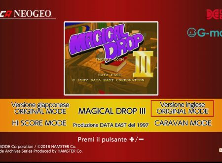 ACA NeoGeo: Magical Drop III, uno sguardo in video al titolo dai Nintendo Switch europei