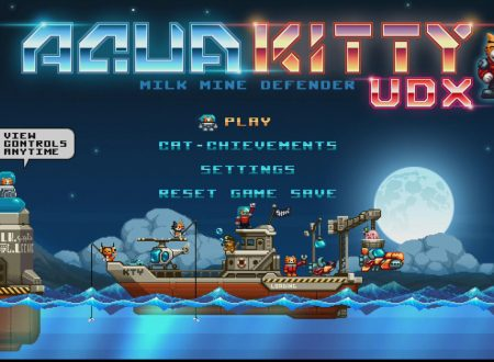 AQUA KITTY UDX: un primo sguardo in video gameplay al titolo dai Nintendo Switch europei