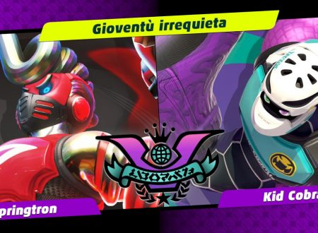 ARMS: uno sguardo in video al quinto Party Crash, Gioventù irrequieta, Springtron vs. Kid Cobra