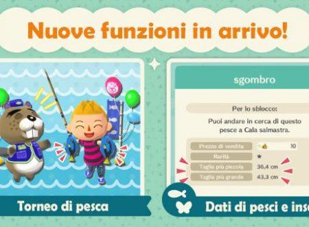 Animal Crossing: Pocket Camp, il primo Torneo di Pesca di Castore e nuovi eventi in programma per il titolo