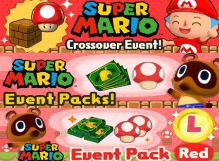 Animal Crossing: Pocket Camp: un datamine rivela l'arrivo di un evento crossover col mondo di Super Mario