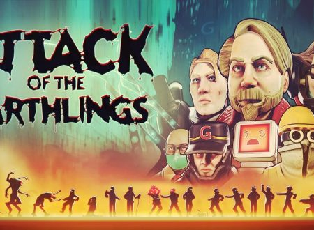 Attack of the Earthlings: il titolo è in arrivo in estate sull'eShop di Nintendo Switch
