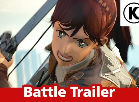 Attack on Titan 2: Future Coordinates, pubblicato il battle trailer del titolo