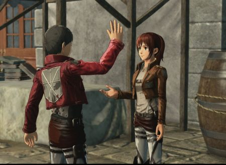 Attack on Titan 2: Future Coordinates, svelato il filesize, titolo in preorder sull'eShop australiano di Nintendo Switch