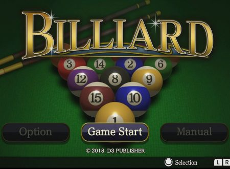 BILLIARD: uno sguardo in video gameplay al titolo dai Nintendo Switch europei