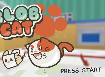 BlobCat: il titolo sarà giocabile in cross-platform anche su Nintendo Switch