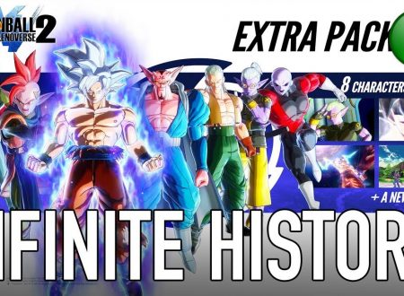 Dragon Ball Xenoverse 2: mostrato un video gameplay dedicato all'Extra Pack 2 DLC