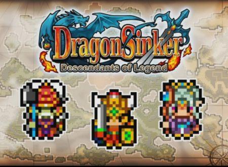 Dragon Sinker: il titolo di KEMCO è in arrivo il 22 febbraio sui Nintendo Switch europei