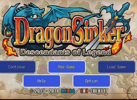 Dragon Sinker: primo sguardo in video al titolo di KEMCO dai Nintendo Switch europei