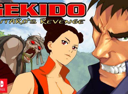 Gekido Kintaro's Revenge: il titolo è in arrivo il 22 marzo sui Nintendo Switch europei