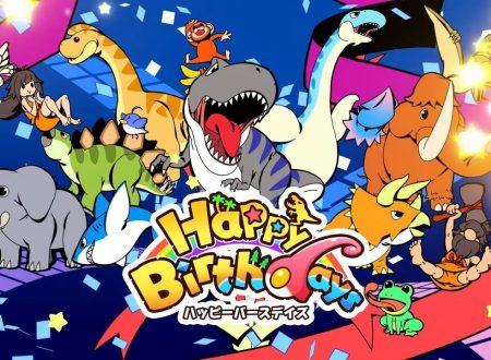 Happy Birthdays: pubblicato il primo trailer della versione per Nintendo Switch