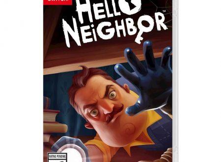 Hello Neighbor: il titolo annunciato ufficialmente per l'approdo su Nintendo Switch