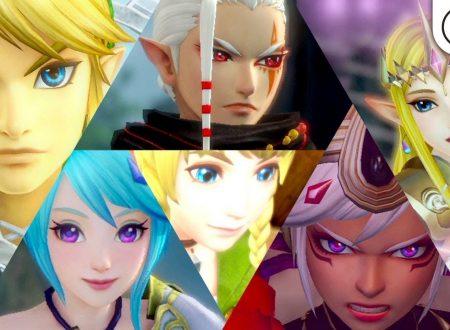Hyrule Warriors: Definitive Edition, pubblicato il primo trailer giapponese sui personaggi del roster