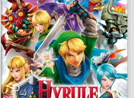 Hyrule Warriors: Definitive Edition, pubblicato il trailer panoramica, mostrata la boxart europea della versione Nintendo Switch