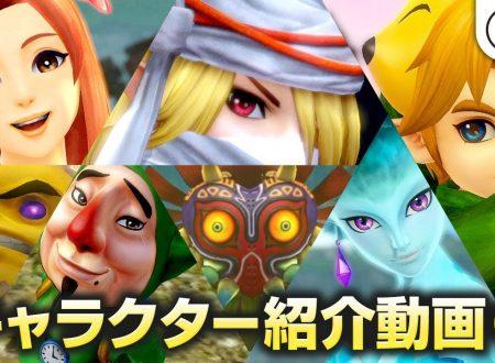 Hyrule Warriors: Definitive Edition, pubblicato un nuovo trailer giapponese sui personaggi del roster