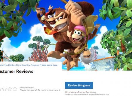Il sito americano di Nintendo da ora la possibilità di scrivere recensioni, fornendo un rating sui titoli per Nintendo Switch