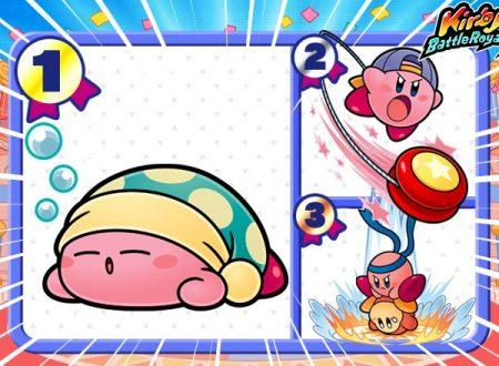 Kirby: Battle Royale, il titolo aggiornato alla versione 3.0 sui Nintendo 3DS europei