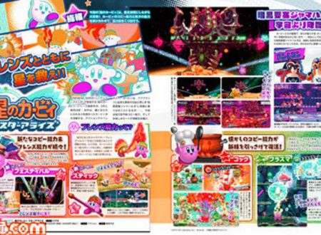 Kirby Star Allies: Famitsu svela e conferma le abilità di Kirby, ritorno per Pon & Con da Dream Land 3